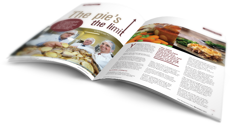 Food Management Today magazine spread
