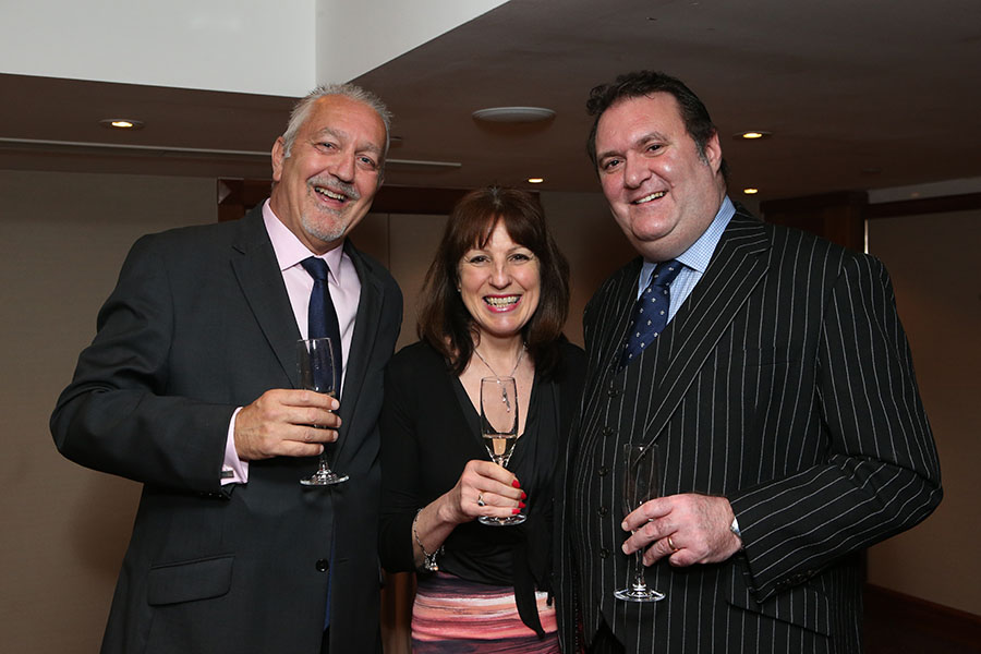 Rob Smith, Jeannine Williamson and Jamie Foster.