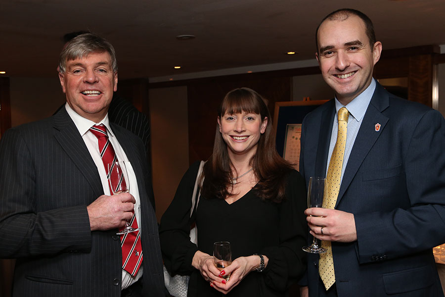 Food Champion Nick Allen together with Claire Sayers-Smith of AHDB and Rob Yandell of FMT.