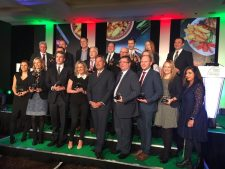 The 2017 FMT Food Industry Awards winners with John Torode.