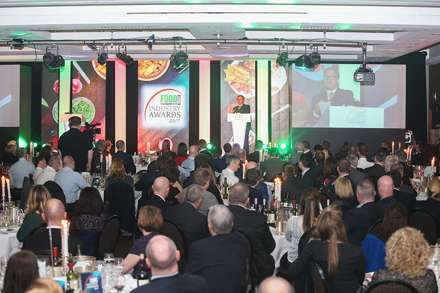 Guests hear from celebrity chef John Torode.