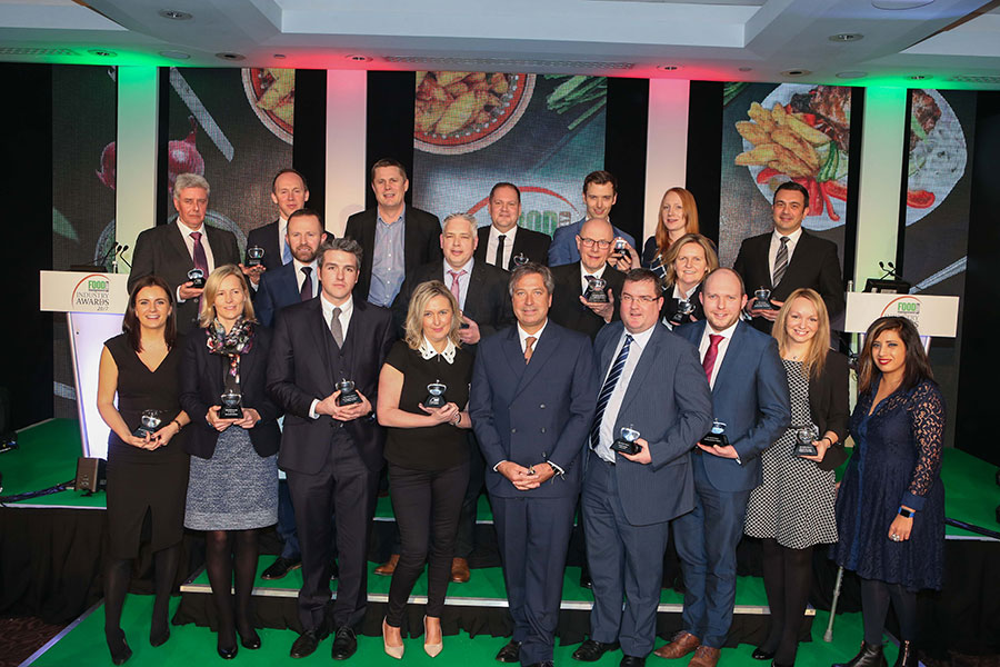 The FMT Food Industry Awards winners with chef John Torode.