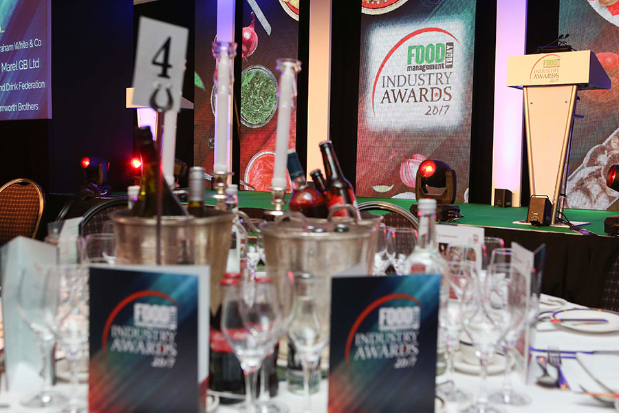 The stage is set for the Food Management Today (FMT) Food Industry Awards.