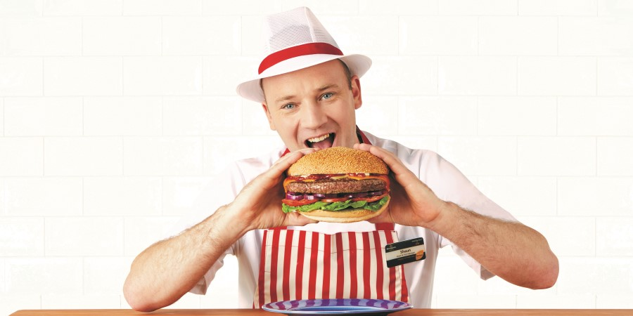 Morrisons launches giant burger to mark National Burger Day
