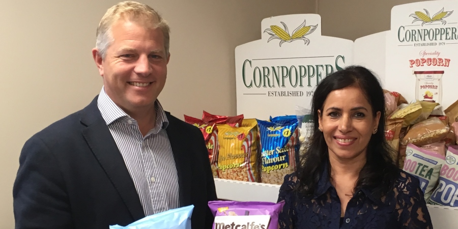 Kettle Foods acquires Cornpoppers
