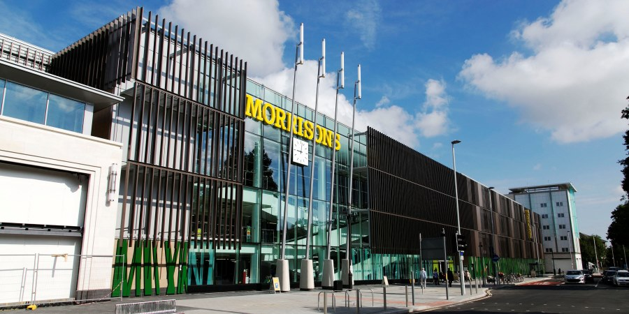 Morrisons sales suffer over festive period