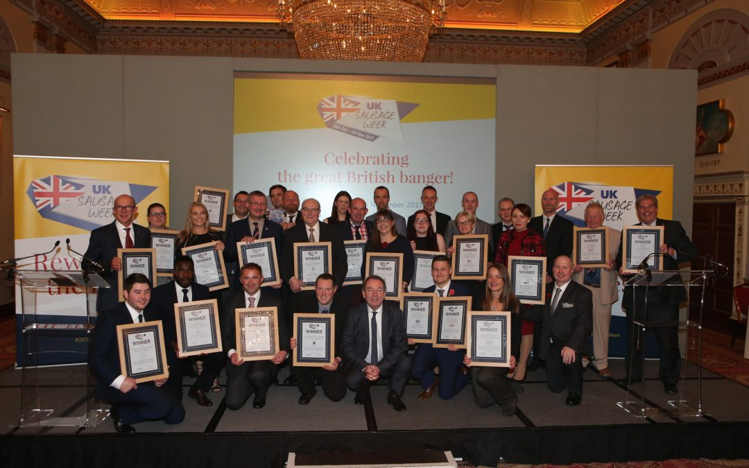 UK Sausage Week winners revealed