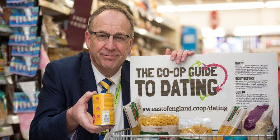 East of England Co-op to sell food after 'Best Before' date
