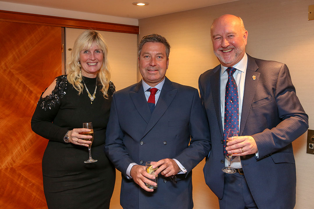 Sharon Yandell, John Torode and Graham Yandell.