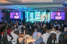 John Torode addresses the FMT Food Awards guests.