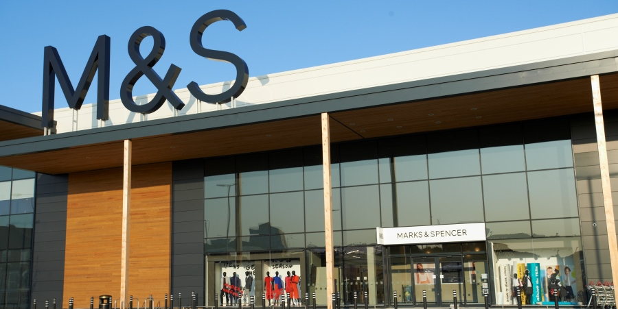 Marks and Spencer reports tough trading