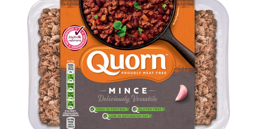 Quorn makes first steps to remove black plastic from packaging