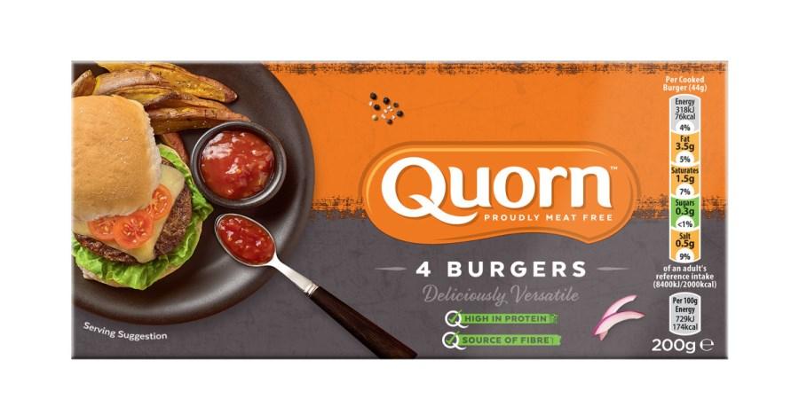 Quorn recalls gluten free burgers