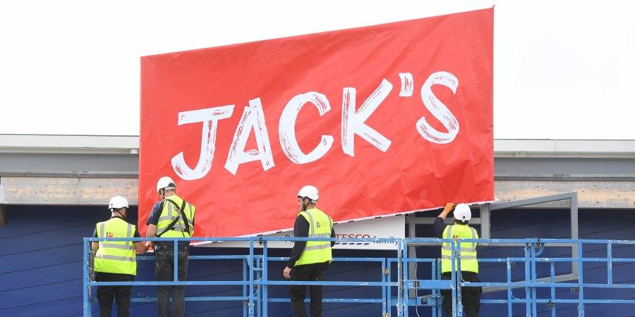 Tesco unveils Jack's discount chain