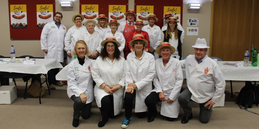 UK Sausage Week competition judging wraps up on a roll