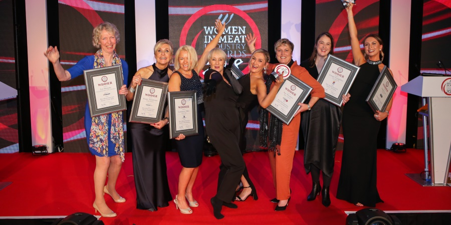 A winning evening at the Women In Meat Industry Awards