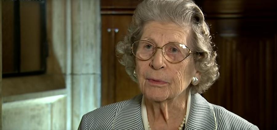 Baroness Trumpington dies aged 96