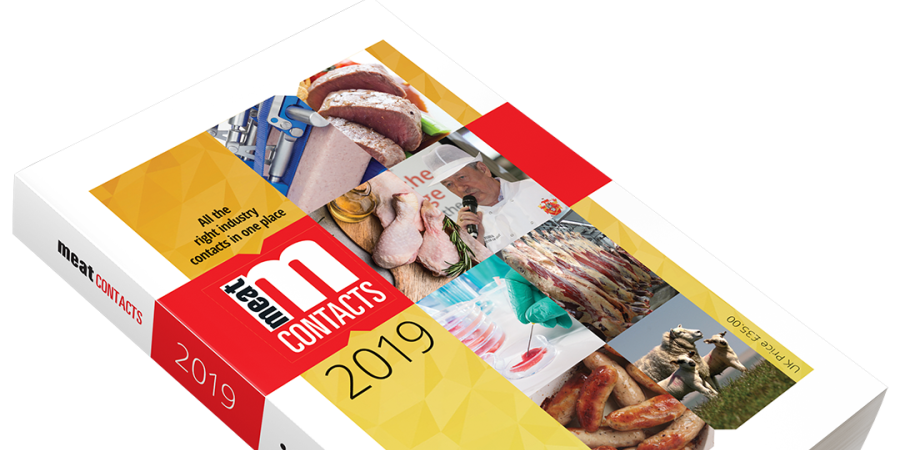 New 2019 edition of Meat Contacts directory