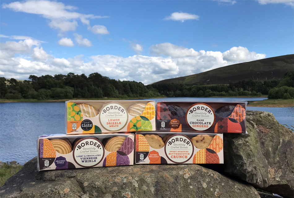 Border Biscuits removes 90% of its plastic packaging