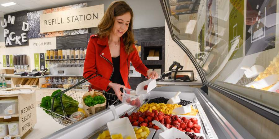 'Waitrose Unpacked' aims to save unnecessary plastic and packaging