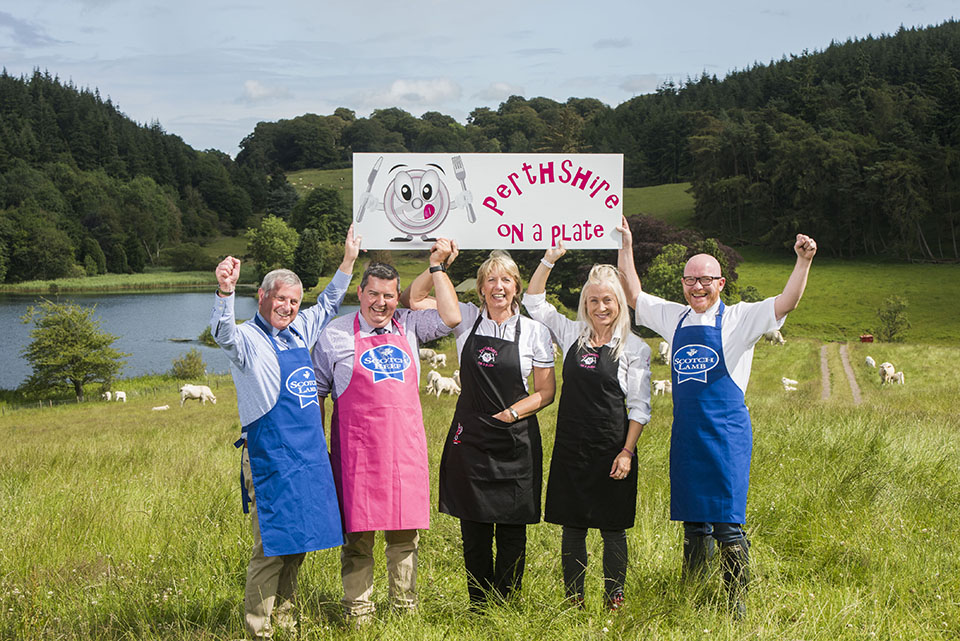 Perthshire produce championed at foodie event