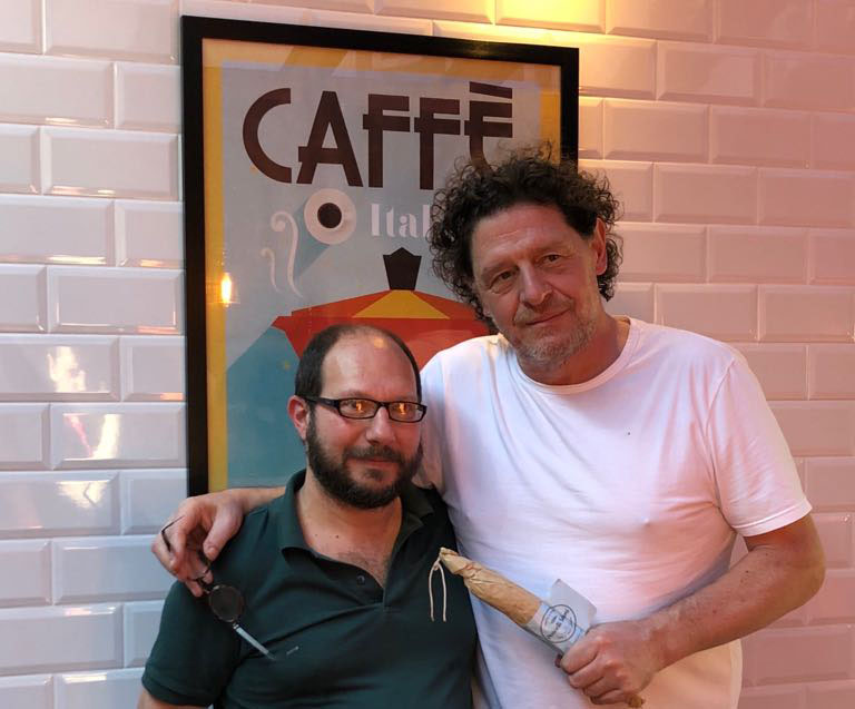 Salami maker teams up with Marco Pierre White
