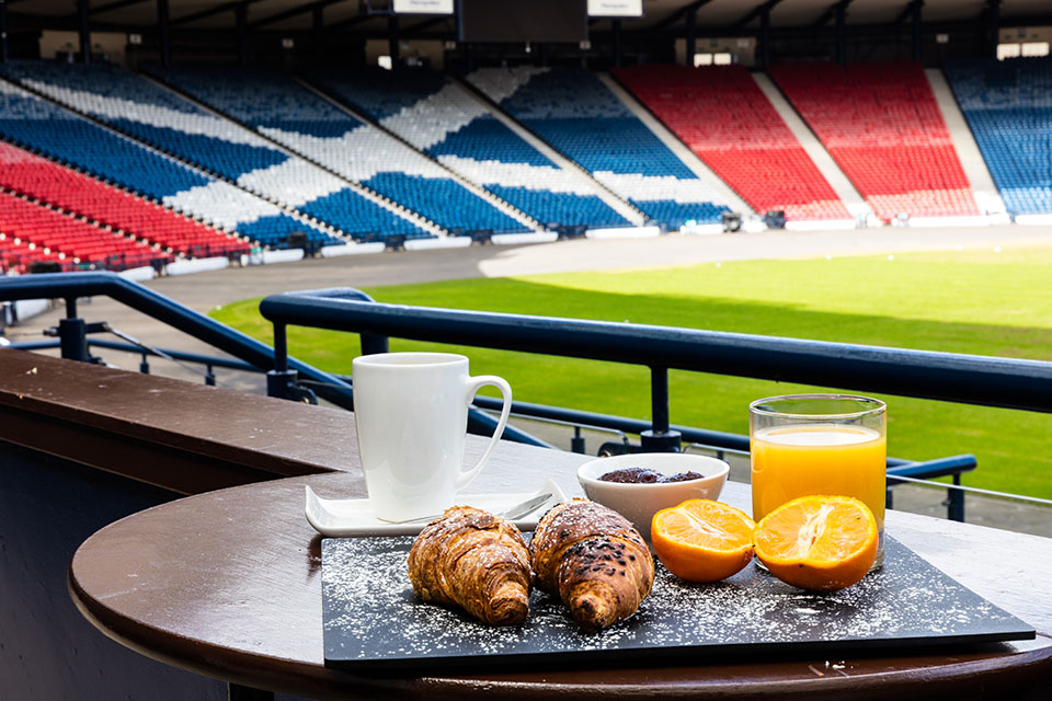 Sodexo teams up with local charity at Hampden Park
