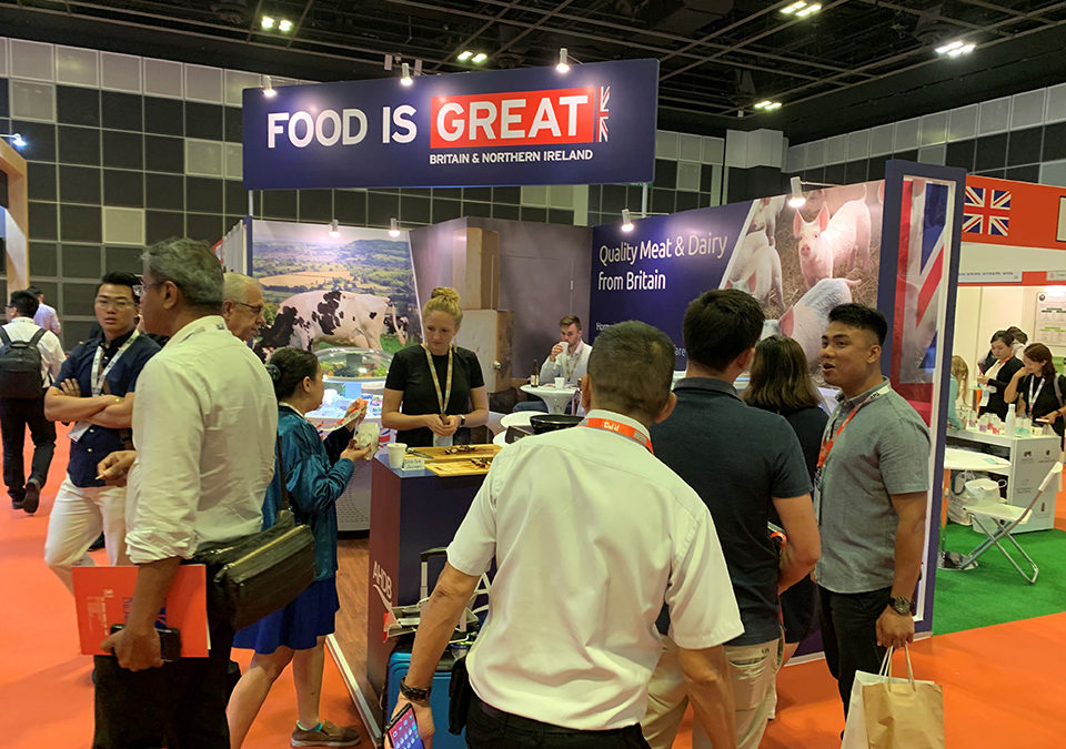 Dairy and meat showcased in Singapore