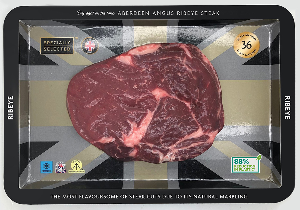 Aldi trials new cardboard steak packaging to cut 240 tonnes of plastic each year