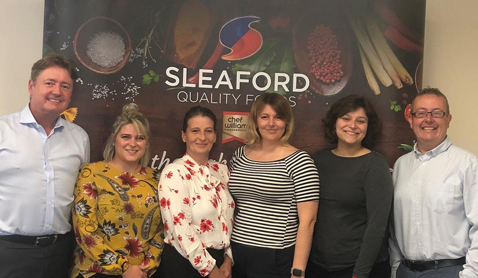 Sleaford Quality Foods has new innovation team