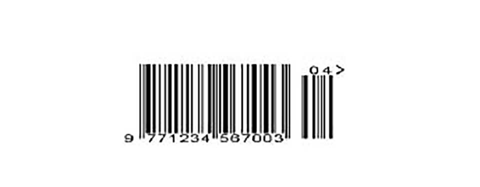 The barcode is 40 years old