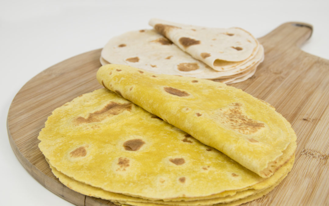 Food waste successfully incorporated into tortillas to increase fibre