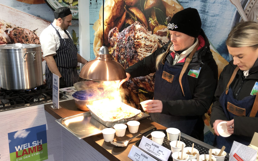 Cardiff consumers sample sustainable Welsh Lamb