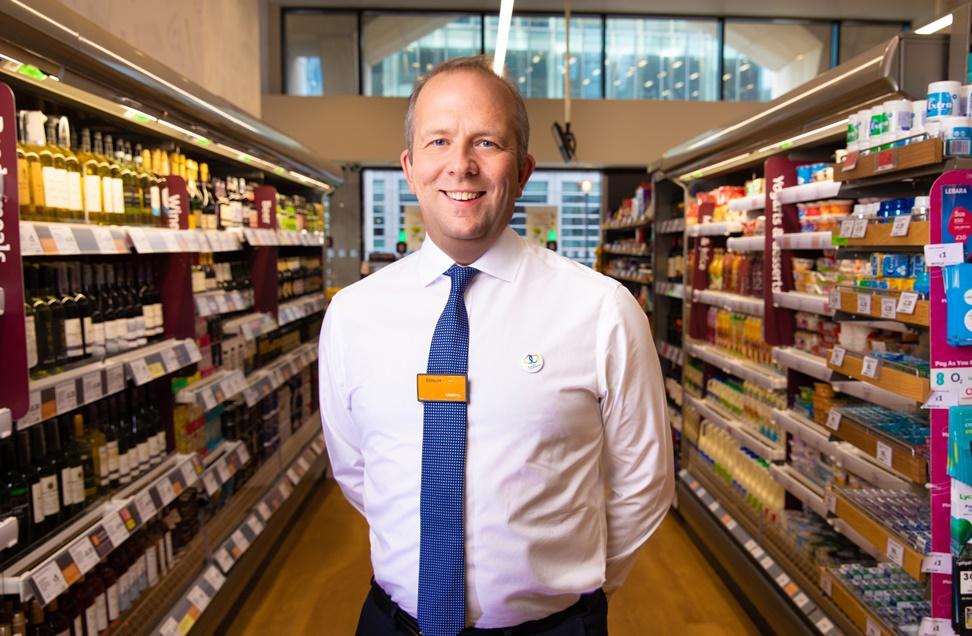 Simon Roberts, Sainsbury's