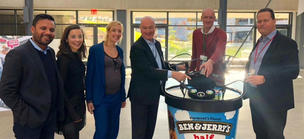 Unilever partners with drone company to deliver ice cream in New York