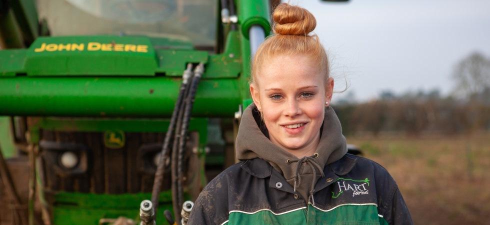 Tulip Ltd supports two new farming apprenticeships