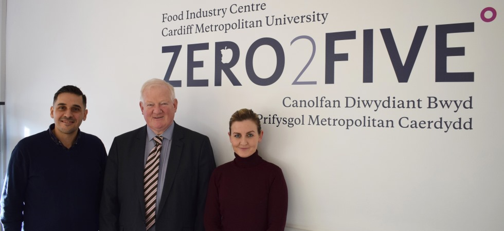 Trio of appointments at Cardiff Metropolitan University's Food Industry Centre