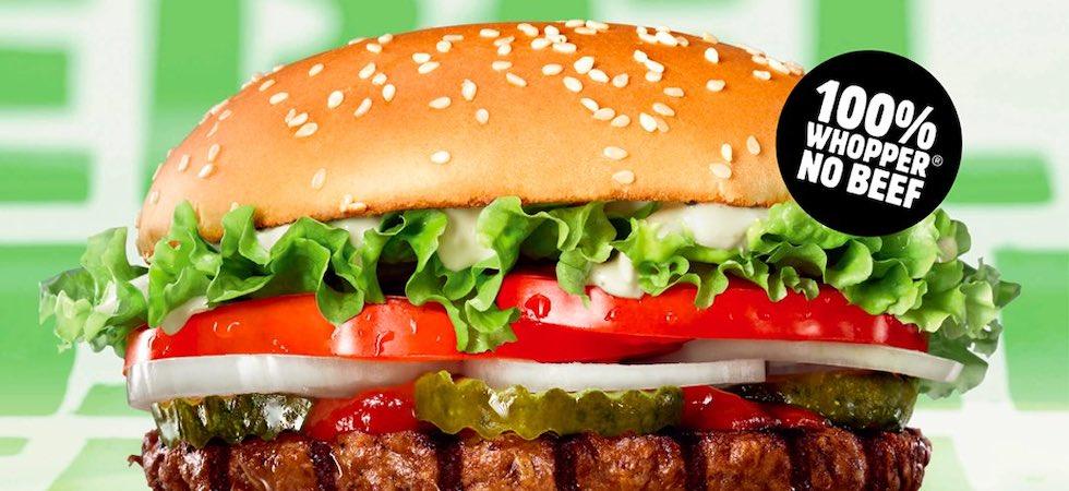 Burger King ads banned over false vegan claims
