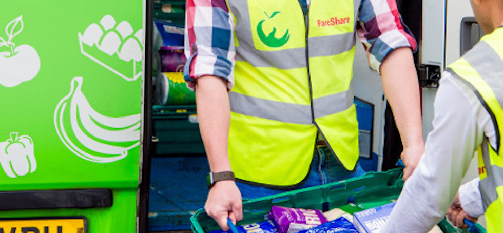 Young's Seafood supports FareShare with latest donation