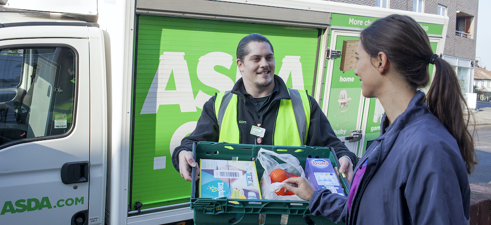 Asda teams up with Uber Eats for grocery home delivery trial