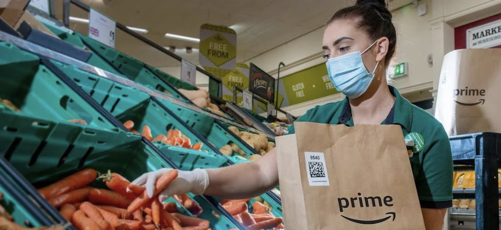 Morrisons teams up with Amazon for food delivery trial