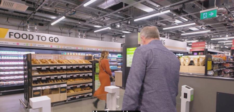 Amazon Fresh store opens in London