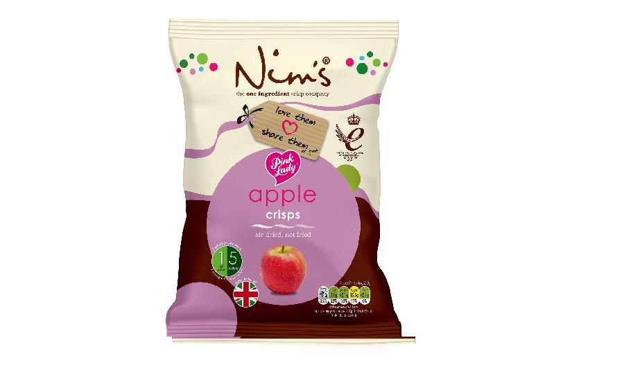 Nim's Fruit Crisps lands exclusive deal with Pink Lady®