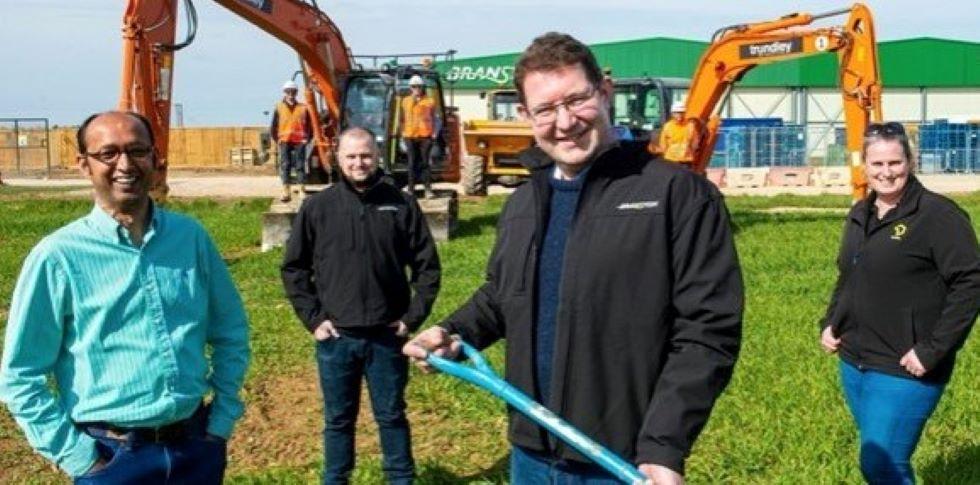 Work starts on £6M potato protein extraction facility at Branston