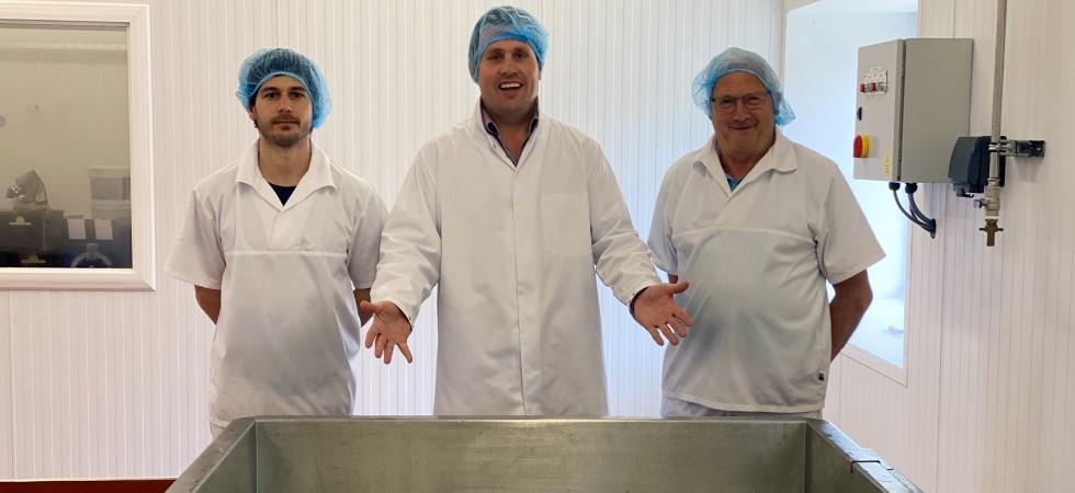 Scottish buffalo farm starts producing mozzarella